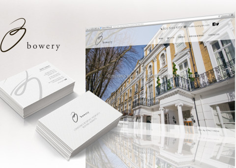 bowery london website front page