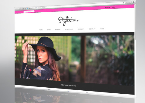 stylisimo website front page